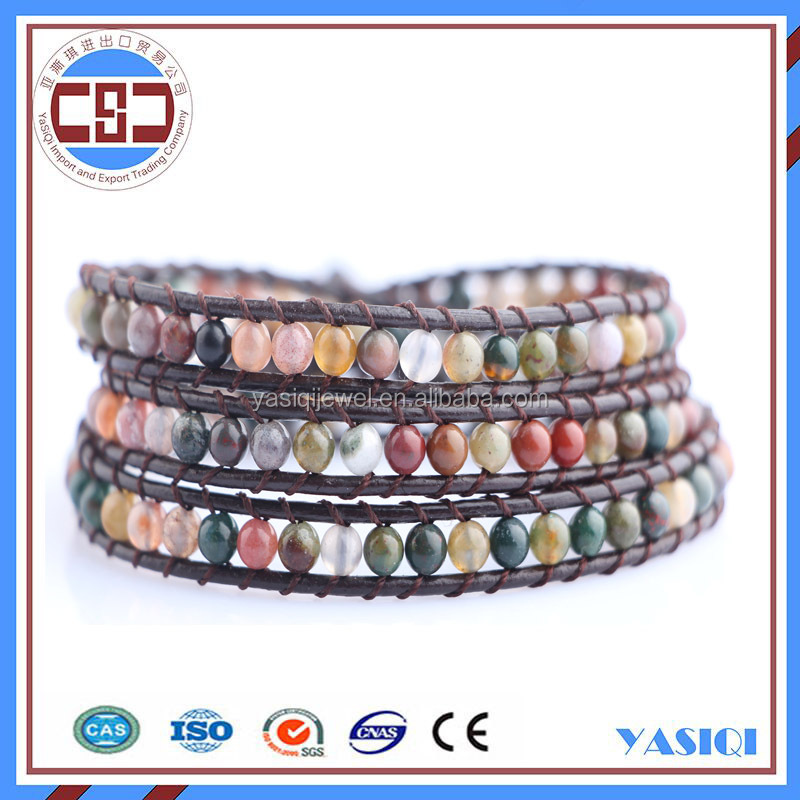 wholesale womens accessories fashion indian agate bracelet jewelry