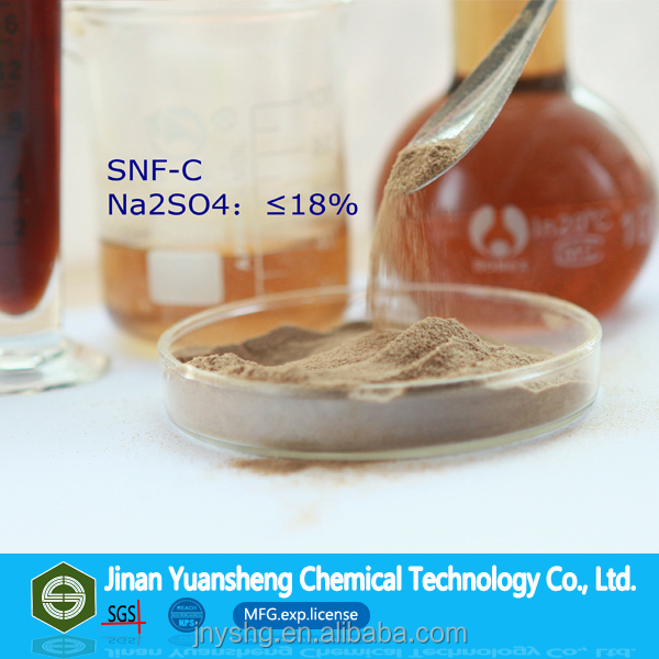 Supply SNF Sodium Poly Naphthalene Sulfonate Formaldehyde Na2SO4 Max 18% Concrete Mortar Additive