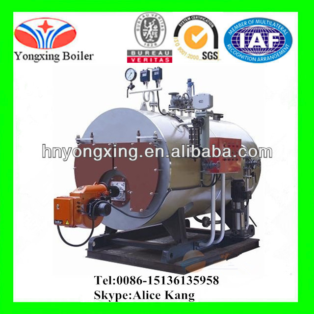 10T/H G1.25(1.6)Mpa China National Class A Gas Oil Fired Steam Boiler