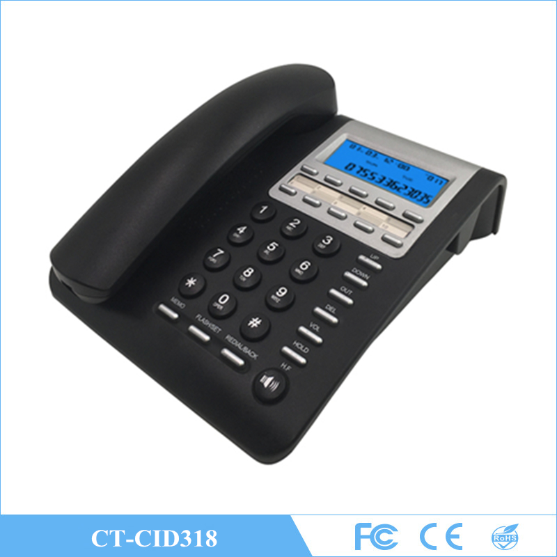 10 groups One-touch Memory Key Desktop Caller ID Corded Phone