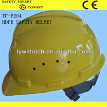 open face work helmets stand