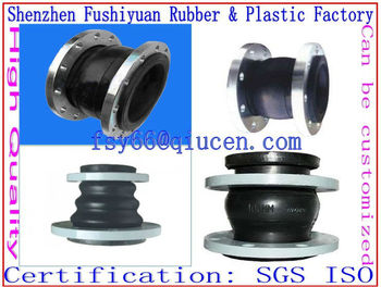 soft rubber compensator joints air spring pipe shock absorber throat pump special flexible rubber joints flexible connectors
