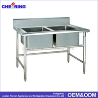 Free Standing Stainless Steel Kitchen Sink