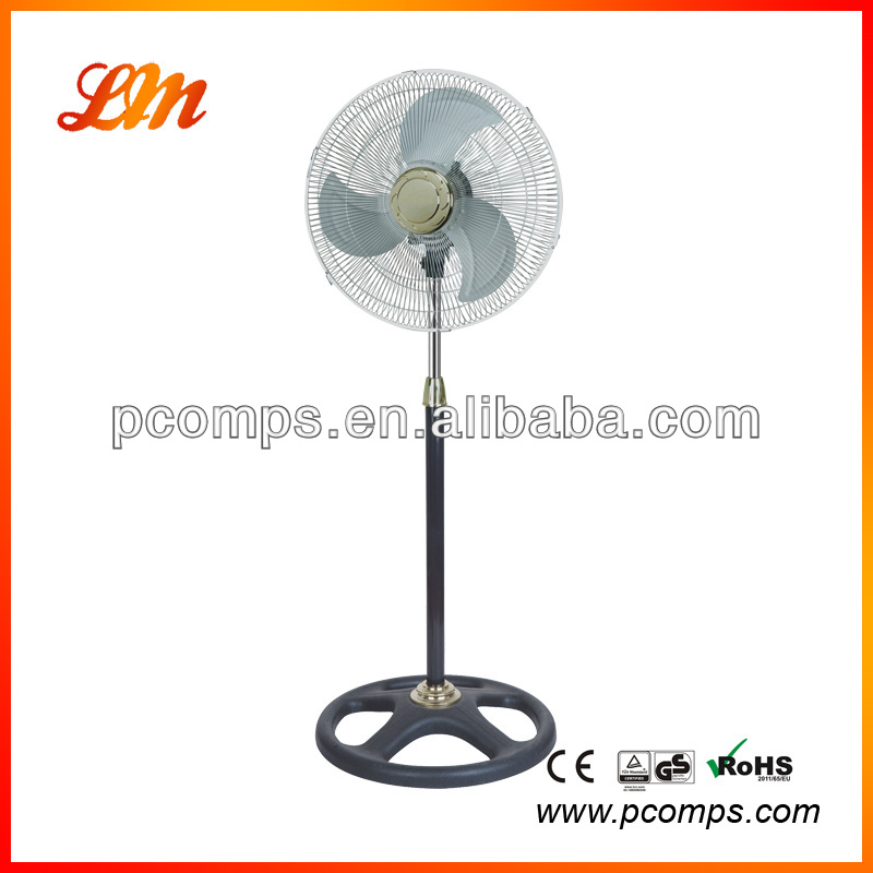 1 Hours Timer Plastic Stand Fan with Independent Wind Direction Control