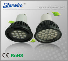 24led smd5050 dimmable led bulb gu10 for hotel room