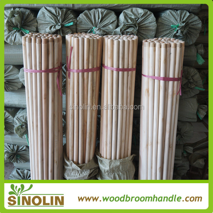 Cleaning Product round wood poles, wood round rod
