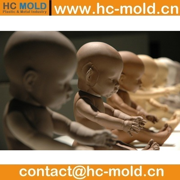 PE doll prototype and mould doll prototype and mould supplier doll prototype and mould