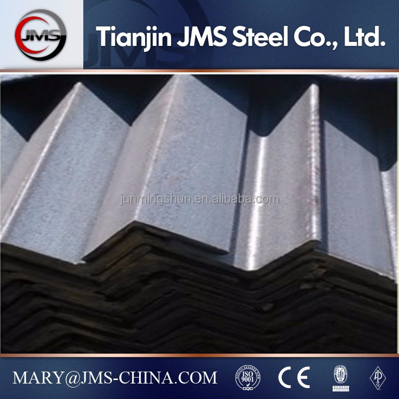 china manufacturer for mild steel angle iron