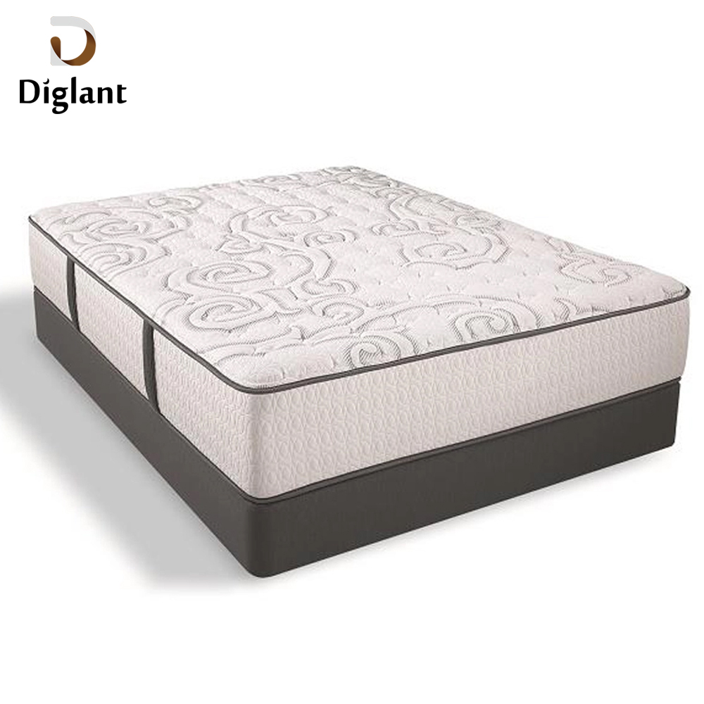 DM011 Diglant Gel Memory Latest Double Fabric Foldable King Size Bed Pocket baby cot mattress - Jozy Mattress | Jozy.net