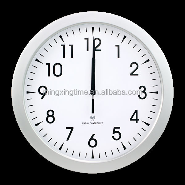 Radio controlled wall clock dcf/msf/jjy/wwb movement