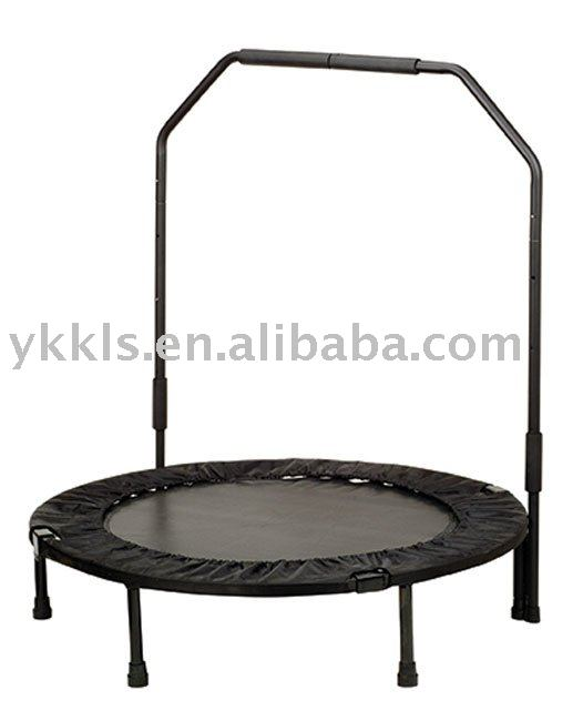 40-inch Foldable Trampoline with Stabilizing Bar
