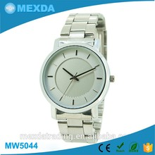 Classic style design unisex cheap stainless steel watches for couple