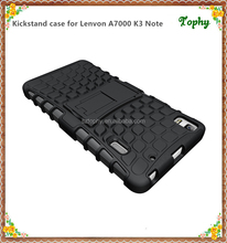 New arrival for Lenovo A7000, for lenovo A7000 K3 NOTE harden pc soft tpu phone case with slim duable design