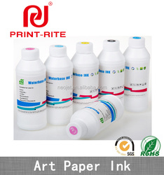 professional digital printing art paper pigment ink for epson