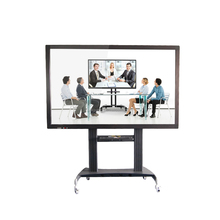 55inch interactive touchscreen all in one smart TV with bracket