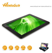 Delicate 9.7 inch touch screen tablet pc high configuration Wifi/GPS/Bluetooth/G sensor android 4.0 OS free apps smart PC tablet