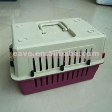 New Fashion Portable Plastic Pet Air Carrier Cage for Dogs