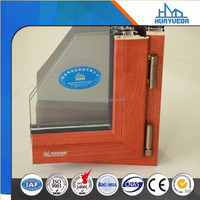 New design 6000 series wood grain architecture aluminium profile for window and door