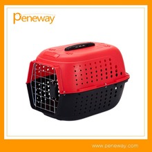 2017 New Pet Transport Plastic Airline Animal Carrier Cage
