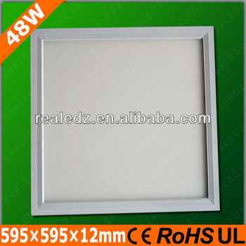 Factory direct sale 48w square LED Panel 600x600
