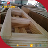 Solid wood edge joint board wood furniture repair parts for wholesale