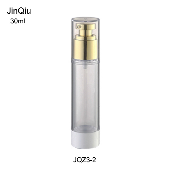 Supply cosmetic airless pump bottle,cosmetic bottle , aluminium airless bottle