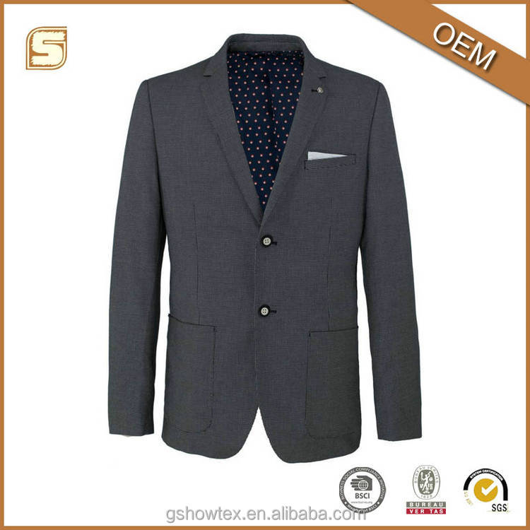 High quality suits blazers for men