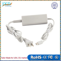 US Type Home Wall Charger Adapter Power Supply for Nintendo Wii U Gamepad