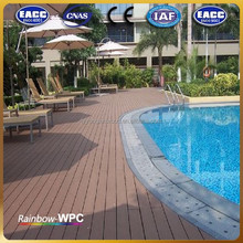 factory wpc flooring tile in spain wpc decking floor