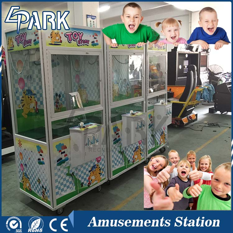 Great fun Gift Machine toy claw crane commerical kids gift vending machine