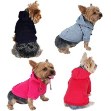 Dog Pullover Cotton Hoodies Sweatshirt Pet Winter Clothes