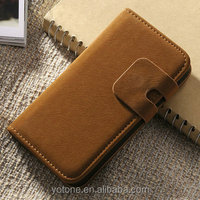 Custom designer wallet replacement cute phone pouch case for Iphone 5 5S