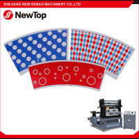 NewTop CE SGS Certificated High Efficient Full Auto Paper Rotary Die Cutting Machine For Wholesales