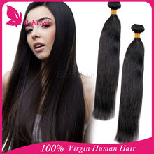 New products for 2015 milky way silky straight malaysian remy kinky curly human hair weft