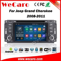 Wecaro WC-JC6235 android 5.1.1 car stereo audio for jeep grand cherokee radio 2008 2009 2010 2011 Wifi 3G GPS RDS