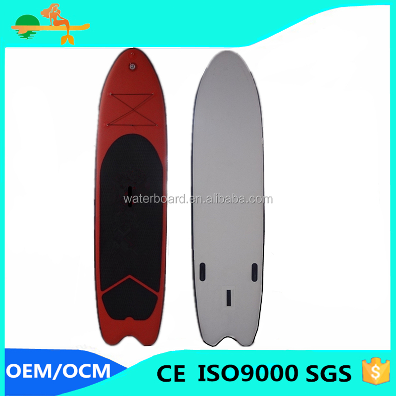 fish tail sup board Manufacturer Inflatable SUP longboard surfboard