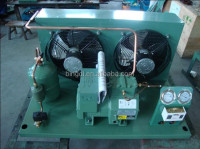 semi-hermetical piston compressor condensing unit