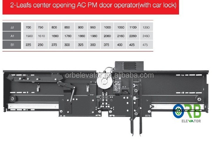 AC PM lift car door operator door system TKP131-21