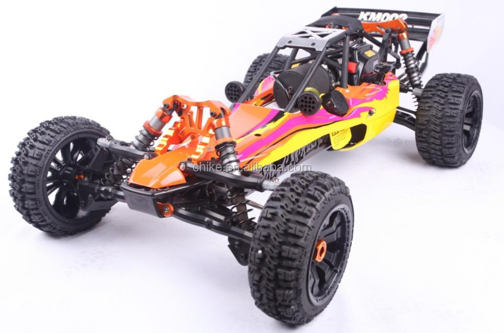 RC CAR/Remote Control car/ 29cc 4 Bolt engine Baja 5B + Steel Roll Cage + Tunepipe +All Terrain Tyres + 2.4G 3CH Transmitter RTR