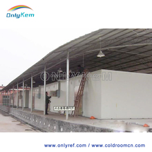 chiller room / cold storage for dairy products and cheese