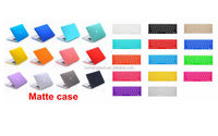 "Laptop Rubberized Cover Case Hard Shell+silicone keyboard Cover for Macbook11""12""13"" 15"""