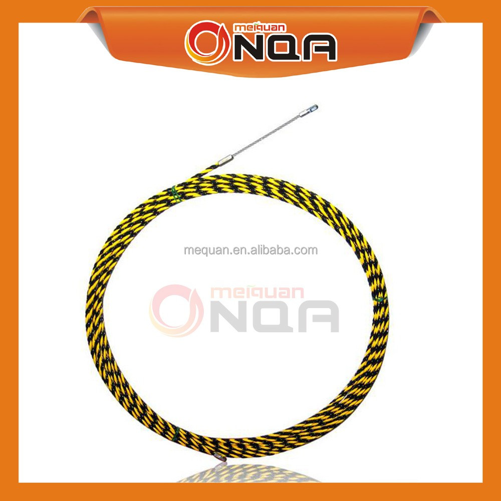Newest Durable 15-60m 3 Core Braid Flexible Fish Draw Tape Wire Puller