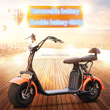 Chinese manufacturer two wheel cheap eagle electric scooter 2000W 40AH