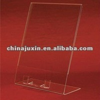 Clear Acrylic 4x6 Counter Display Sign