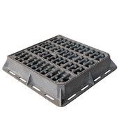 B125 C250 D400 E600 F900 Ductile Iron Hinged Gully Grates and frames Casting Foundry Price EN124 Standard