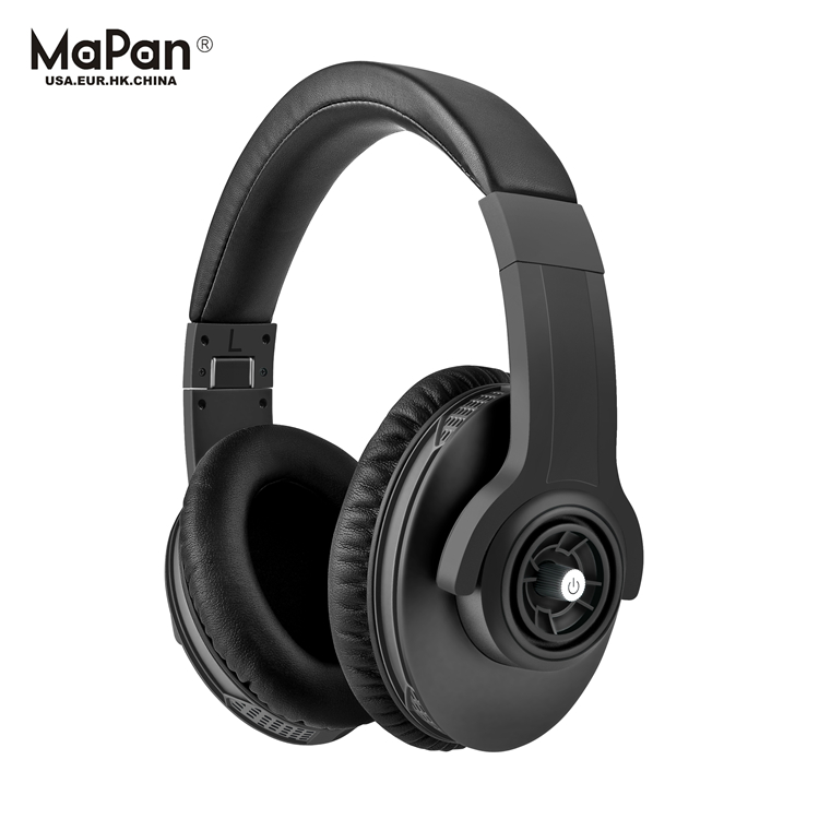 High sound quality wireless bluetooth headphone with mic