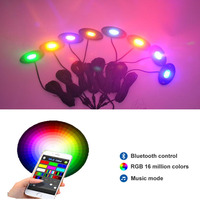 LED Rock Light Pods 8pc For