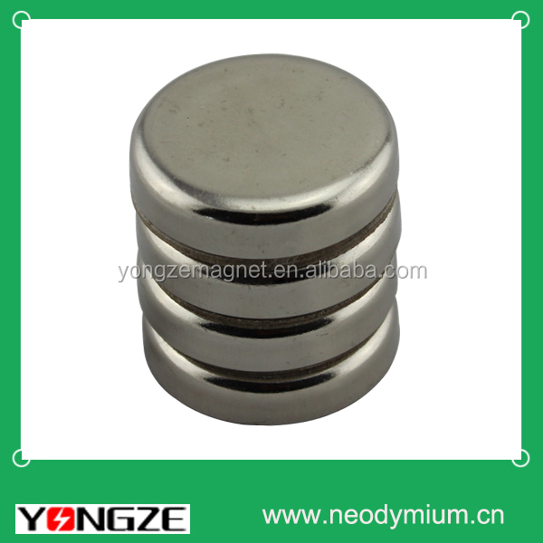 Powerful customized neodymium cup magnet.