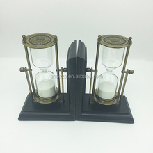Wholesale Bookend Sand Timer Wooden Bookend Factory