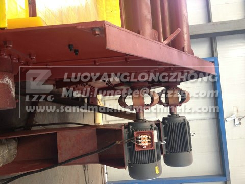 Dewatering screening equipment for waste coal,LZZG brand